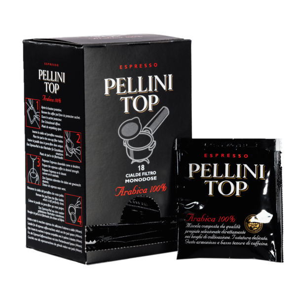 Coffee pods - Espresso Pellini Top Arabica 100% in single use E.S.E. pods - 2