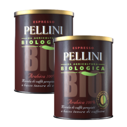 Pellini Bio Arabica 100% in tin - 2 tins