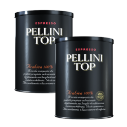 Pellini Top Arabica 100% - 2 tins