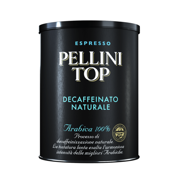Ground coffee - Pellini Top Arabica 100% Decaffeinato Naturale