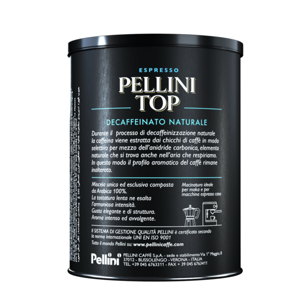 Ground coffee - Pellini Top Arabica 100% Decaffeinato Naturale - 2