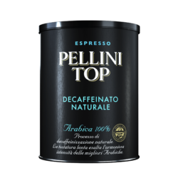 Pellini Top Arabica 100% Decaffeinato Naturale - Single pack (1 tin)