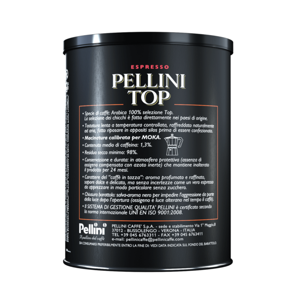 Ground coffee - Pellini Top Arabica 100% - 2